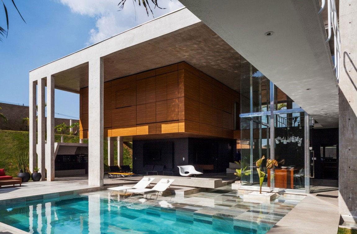 Botucatu House står som ett arkitektoniskt mästerverk 6 Botucatu House står som ett arkitektoniskt mästerverk