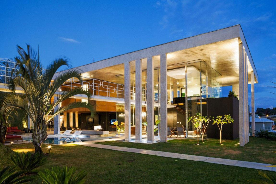 Botucatu House står som ett arkitektoniskt mästerverk 15 Botucatu House står som ett arkitektoniskt mästerverk