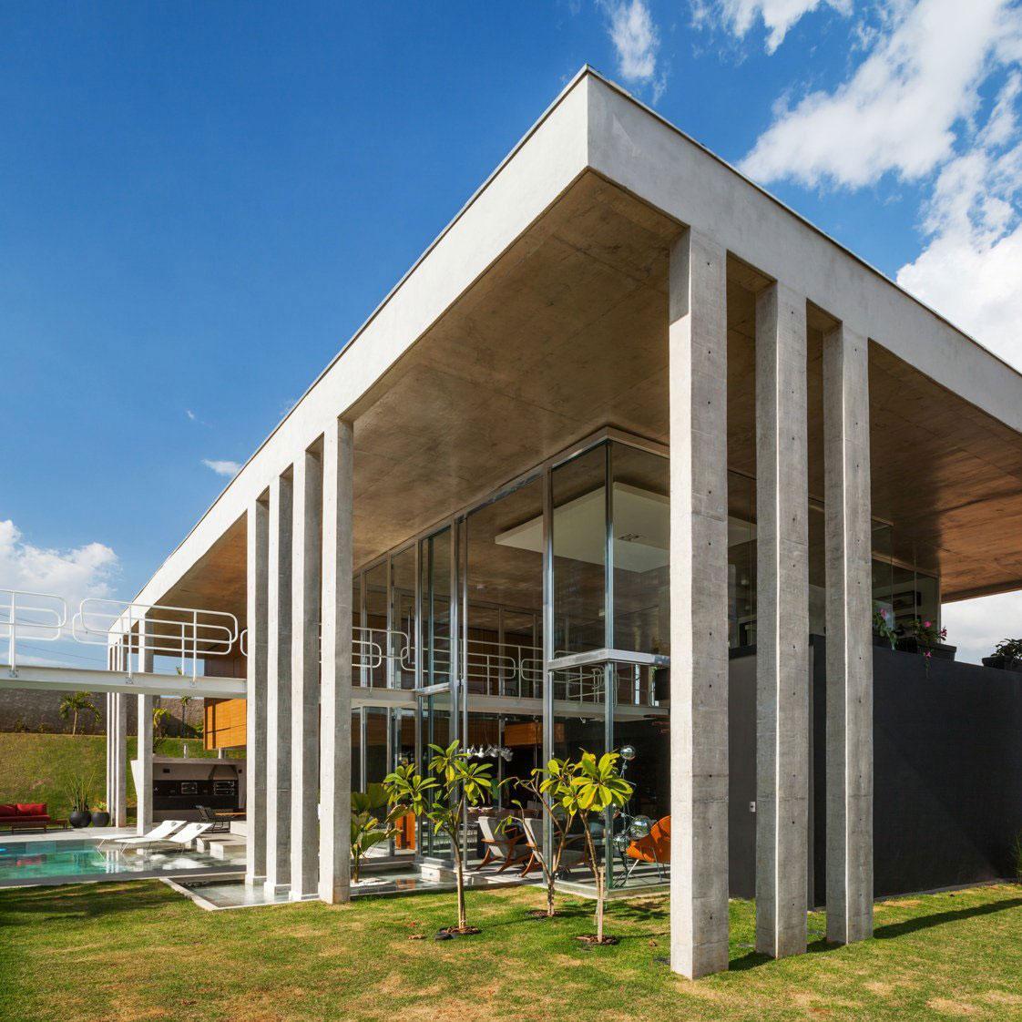 Botucatu House står som ett arkitektoniskt mästerverk 2 Botucatu House står som ett arkitektoniskt mästerverk