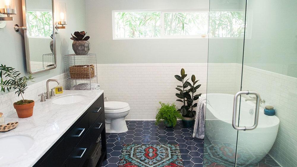 bad-umgestalten-modern-0815-11_horiz Enkla idéer för att uppdatera ditt badrum