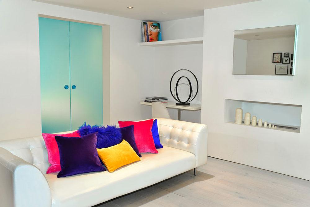 Living-by-Cathy-Phillips-Co Liten lägenhet vardagsrum idéer på en budget