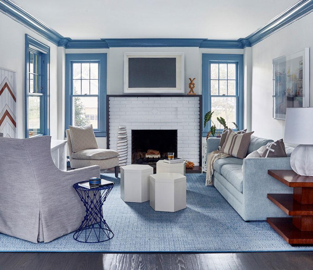 Glen-Ridge-Home-by-Toledo-Geller Liten lägenhet Vardagsrum Idéer på en budget
