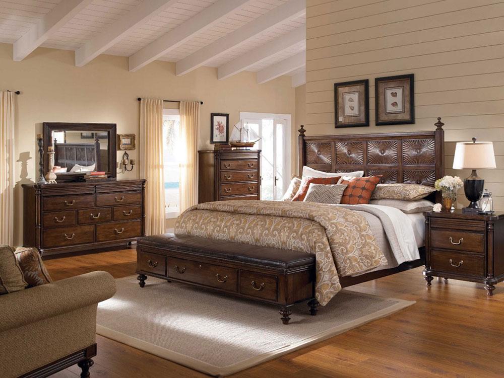 Sovrumsmöbler i massivt trä - mörk färg En guide för att välja vackra möbler i massivt trä till ditt sovrum