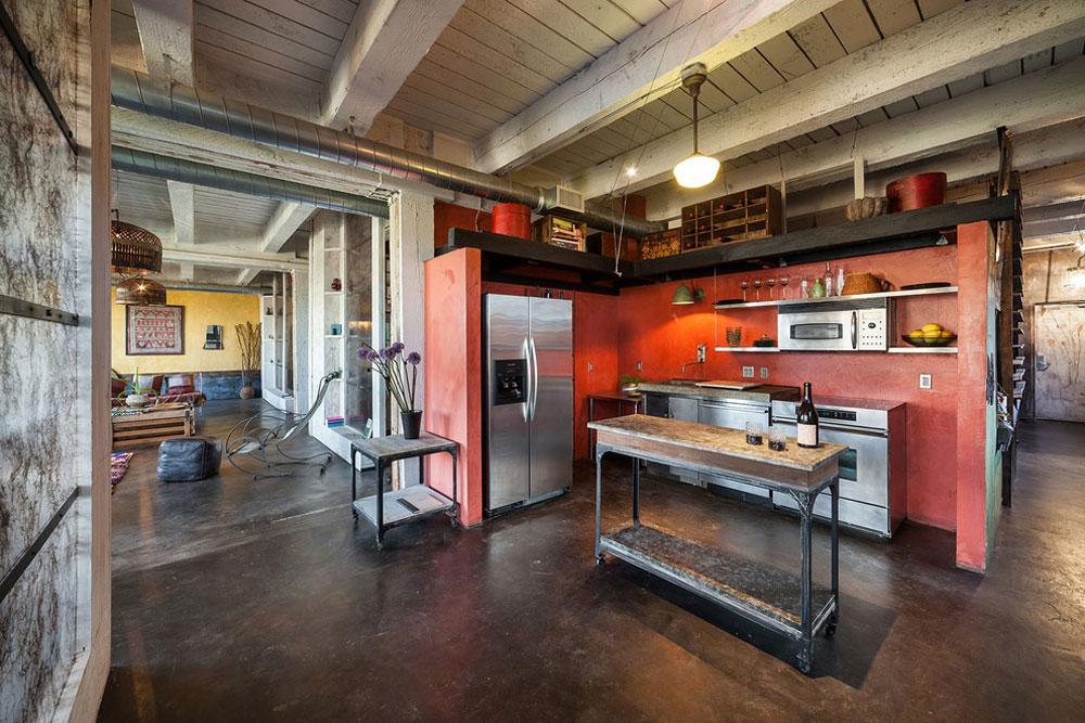 Private-Residence-CH-by-KuDa-Fotografie Idéer för industrikök: skåp, hyllor, stolar och belysning