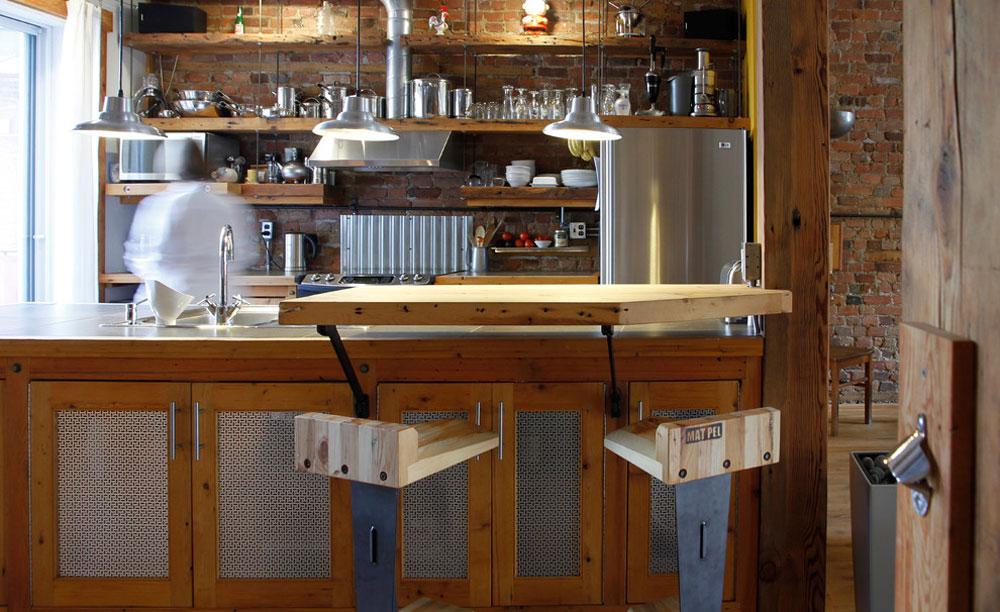 Dominique-Anne-Marie-von-Esther-Hershcovich Idéer för industrikök: skåp, hyllor, stolar och belysning