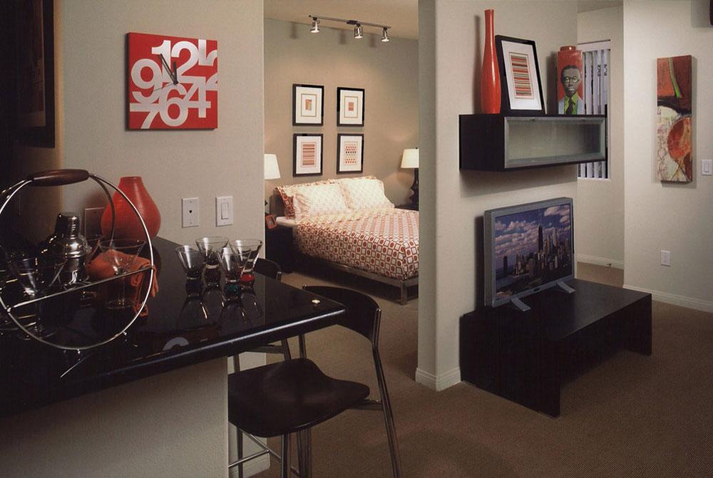 Liten lägenhet att dekorera och möblera på en budget 5 Liten lägenhet att dekorera och möblera på en budget