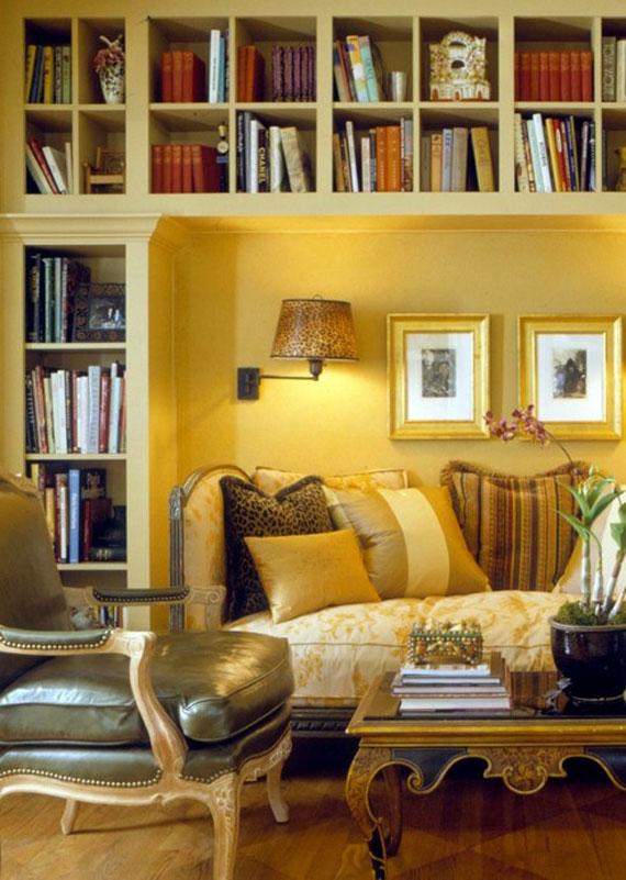 y25 Exempel på rum designade och dekorerade med gult