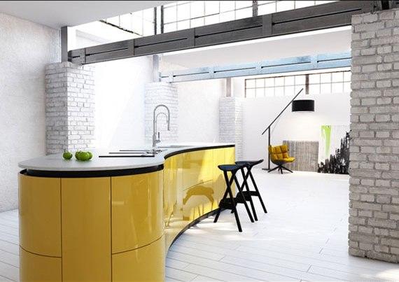 y3 Exempel på rum designade och dekorerade med gult
