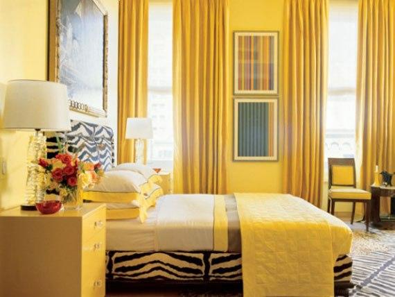 y11 Exempel på rum designade och dekorerade med gult