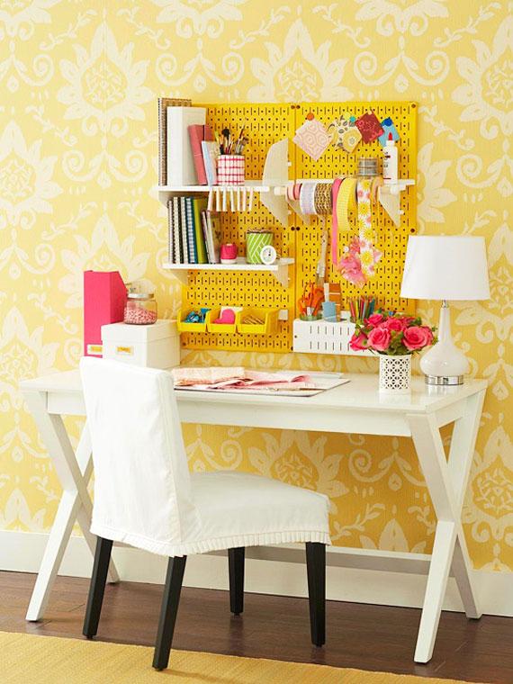y30 Exempel på rum designade och dekorerade med gult
