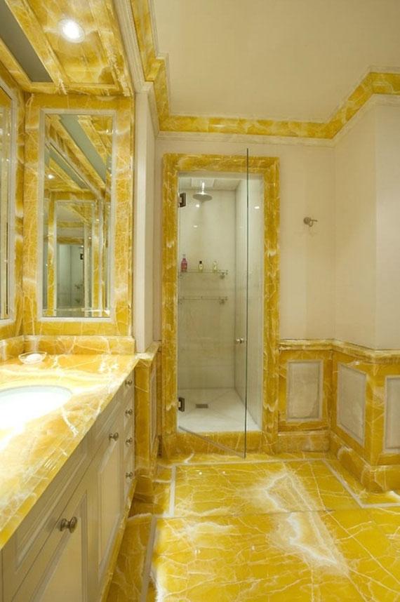 y13 Exempel på rum designade och dekorerade med gult