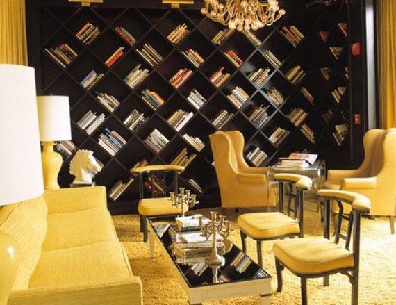 y9 Exempel på rum designade och dekorerade med gult