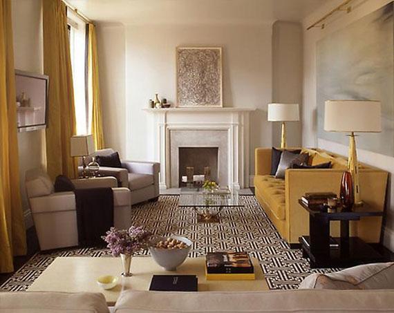 y18 Exempel på rum designade och dekorerade med gult