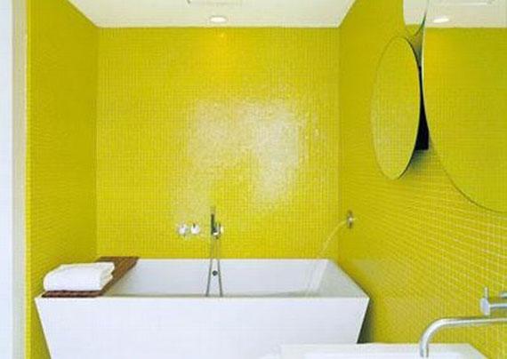 y5 Exempel på rum designade och dekorerade med gult