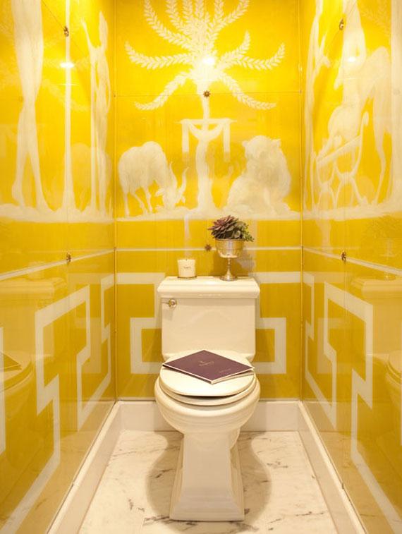 y14 Exempel på rum designade och dekorerade med gult