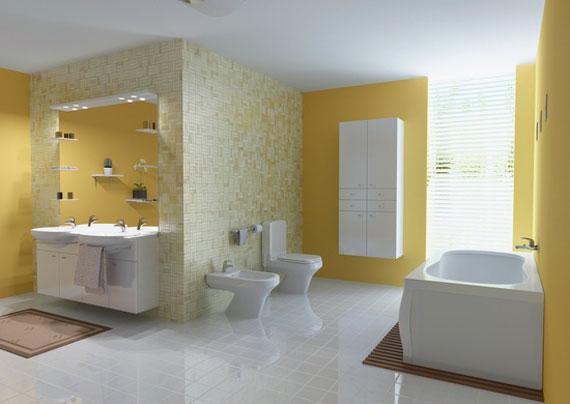 y12 Exempel på rum designade och dekorerade med gult
