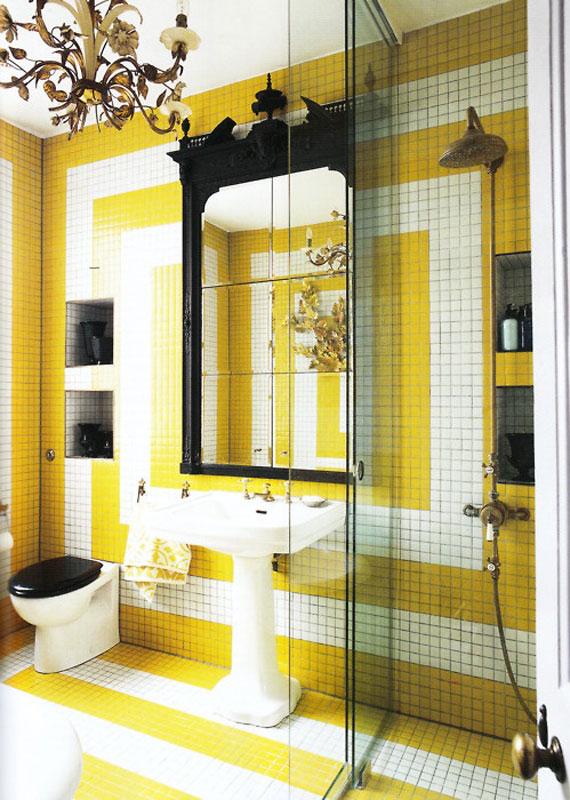 y26 Exempel på rum designade och dekorerade med gult
