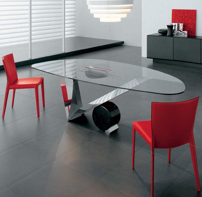67958788248 Matbord i glas ger din interiör en modern touch