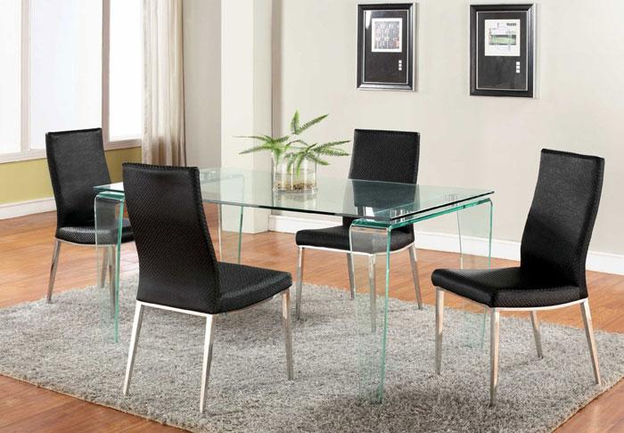 67958834909 Matbord i glas för att ge din interiör en modern touch