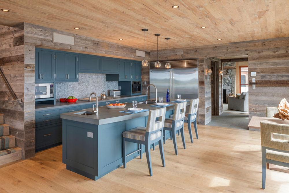 Blå köksidéer från The-Nest-by-Holmes-Hole-Builders-LLC: skåp, väggar och diskar