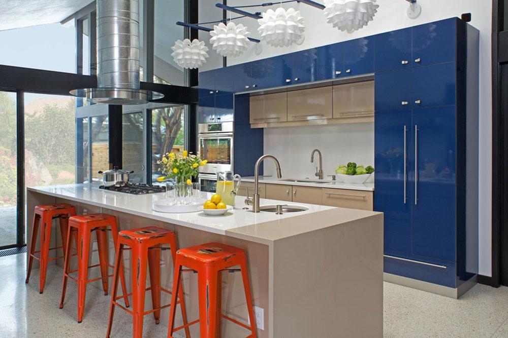 Its-a-Mod-Mod-World-by-Kabi-Kitchen and Bathroom Cabinets Blå köksidéer: skåp, väggar och diskar