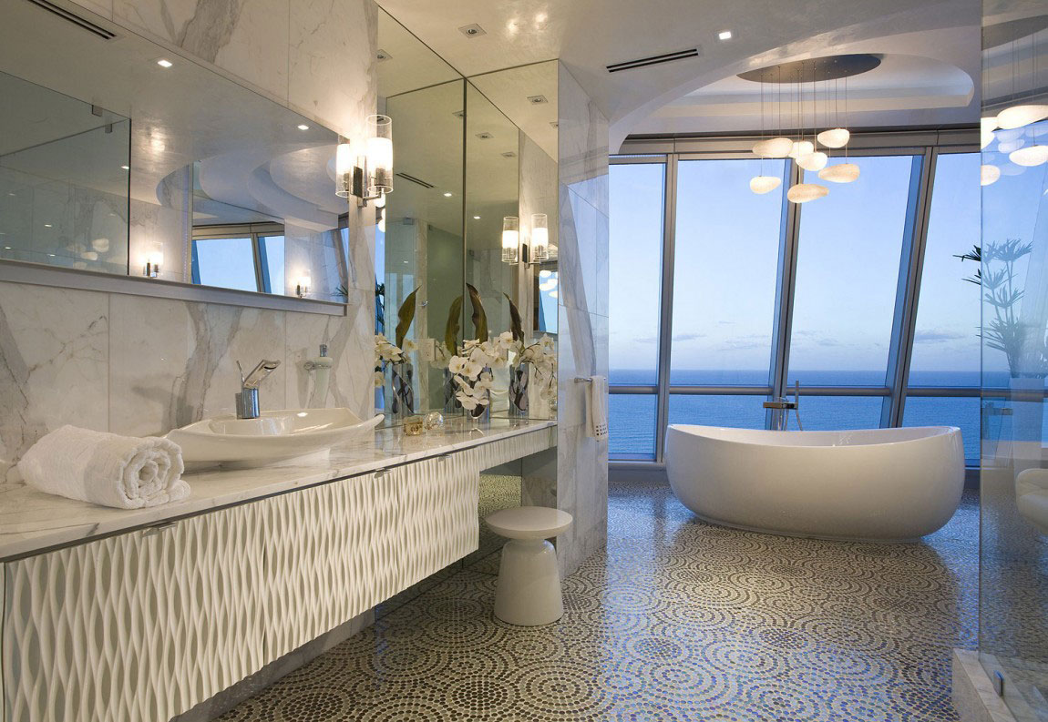 Elegant-ocean-penthouse-with-lots-hanging-lights-17 Elegant ocean-penthouse med massor av hängande lampor