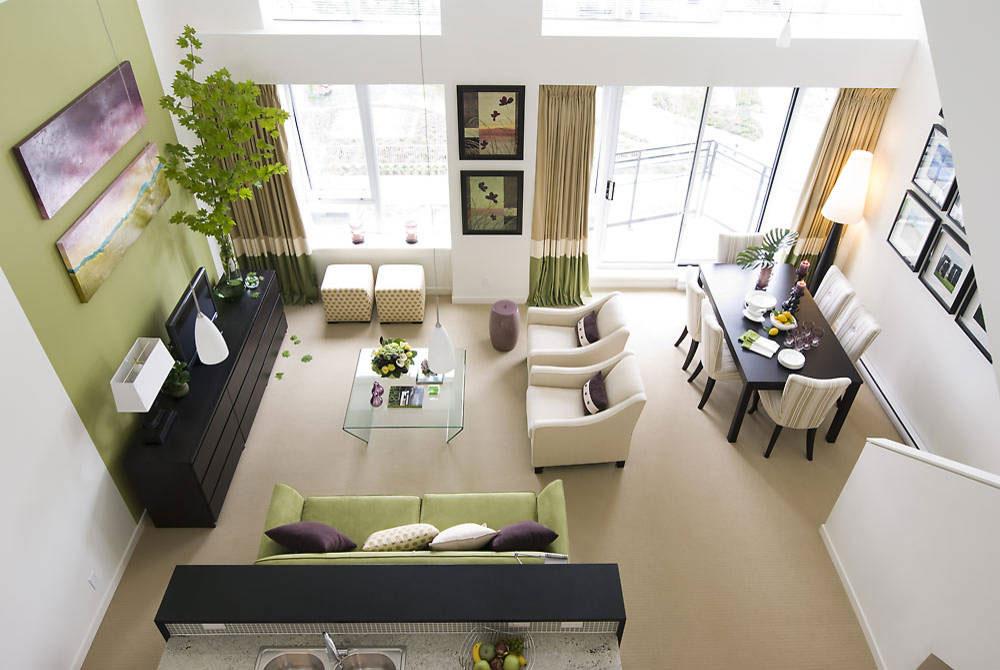 Hur man får ett vardagsrum att se större ut Hur man får ett vardagsrum att se större ut