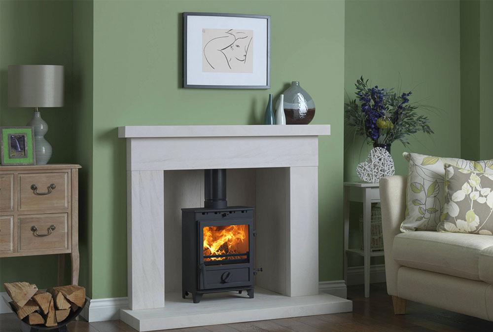 Fireline-by-Charlton-Jenrick Gröna vardagsrumsidéer: väggar, stolar, färg