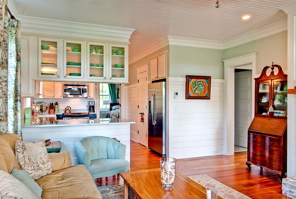 Vardagsrum-vid-Middleton-gruppen Gröna vardagsrumsidéer: väggar, stolar, färg