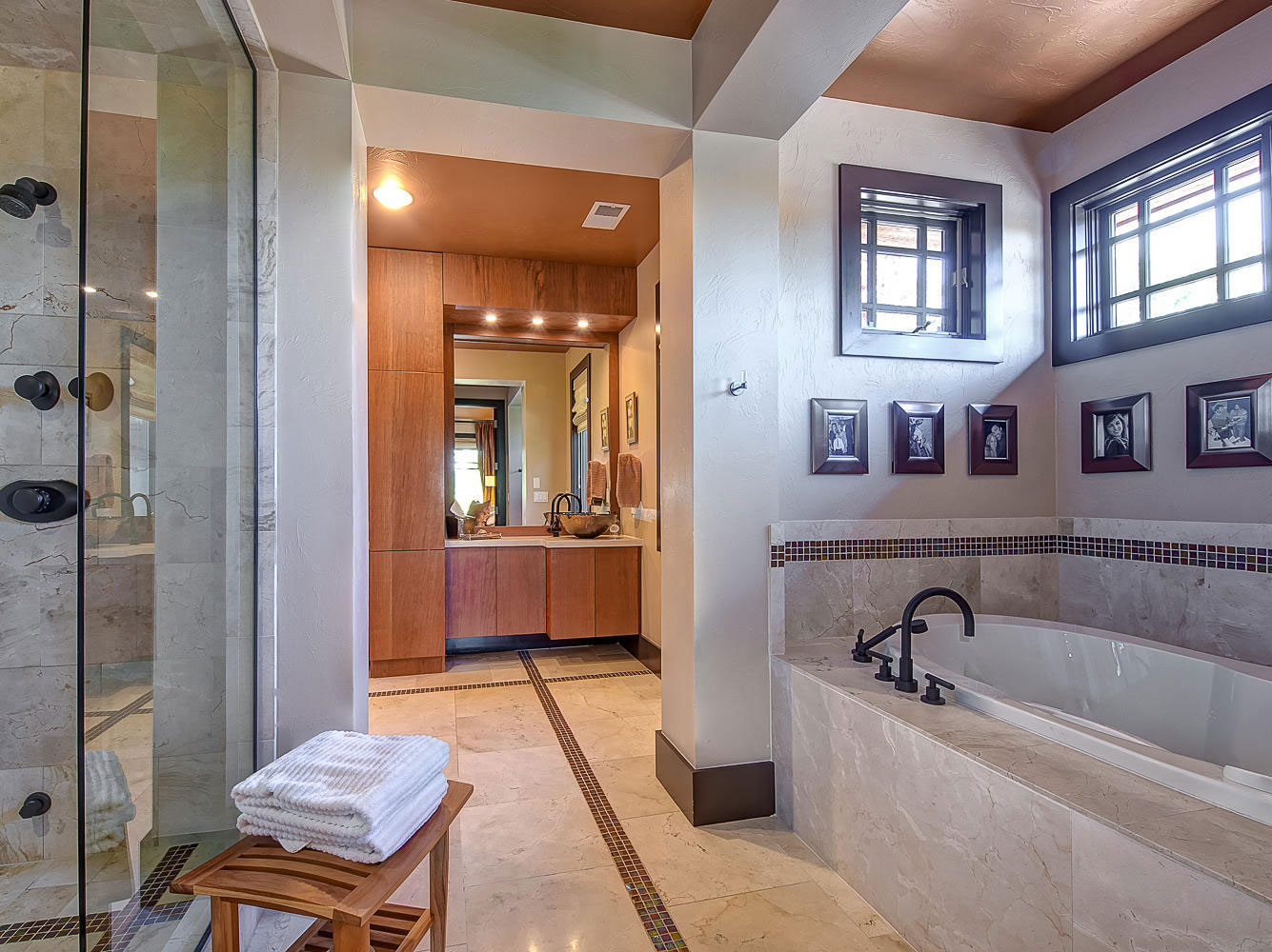 Elegant och modernt hus med rustik exteriör 31 Elegant och modernt hus med rustik exteriör