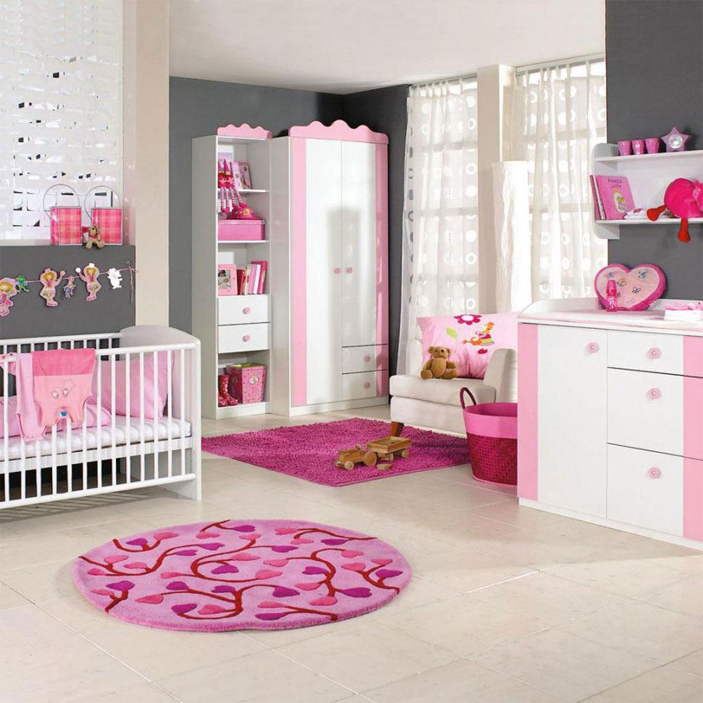Babyrum-design-idéer-för-flickor-2 babyrum-design-idéer för flickor