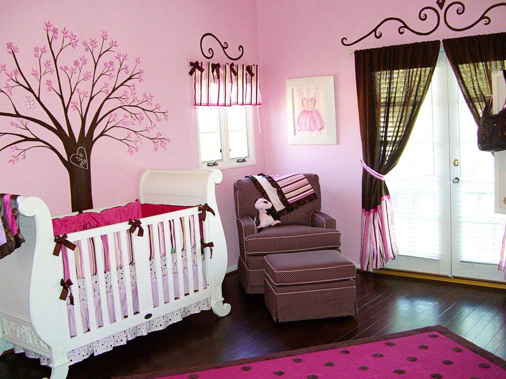 Babyrum-design-idéer-för-flickor-12 babyrum-design-idéer för flickor