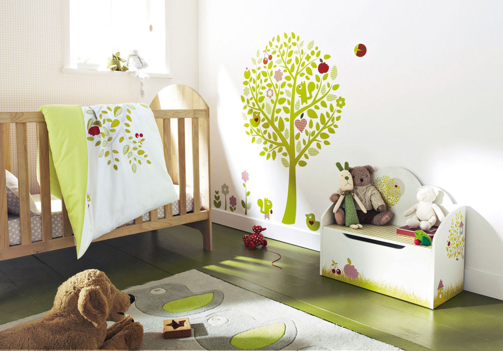 Babyrum-design-idéer-för-flickor-11 babyrum-design-idéer för flickor