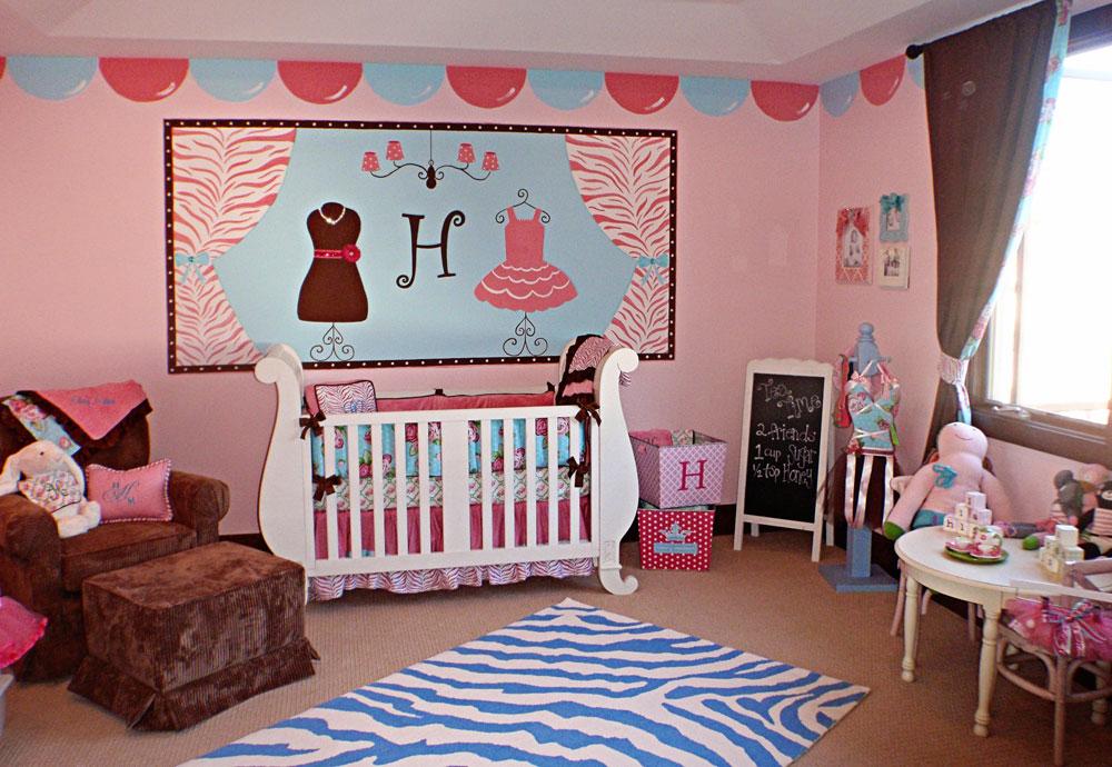 Babyrum-design-idéer-för-flickor-13 babyrum-design-idéer för flickor