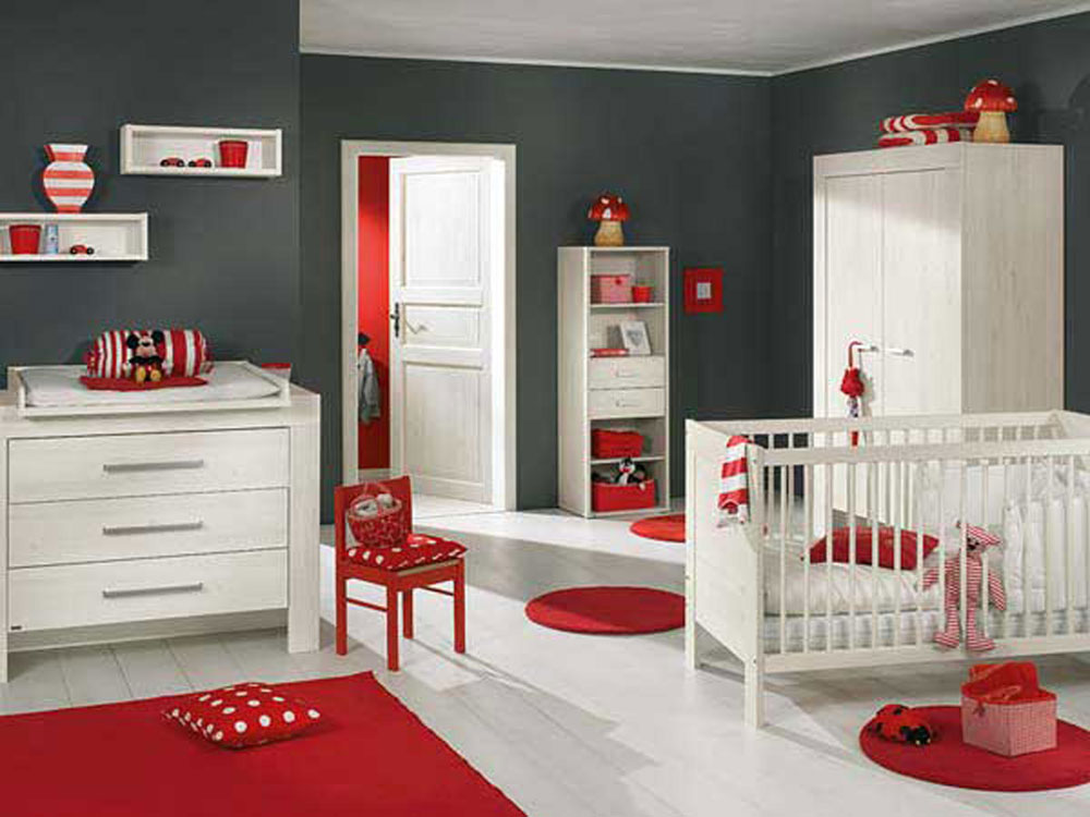 Babyrum-design-idéer-för-flickor-6 babyrum-design-idéer för flickor
