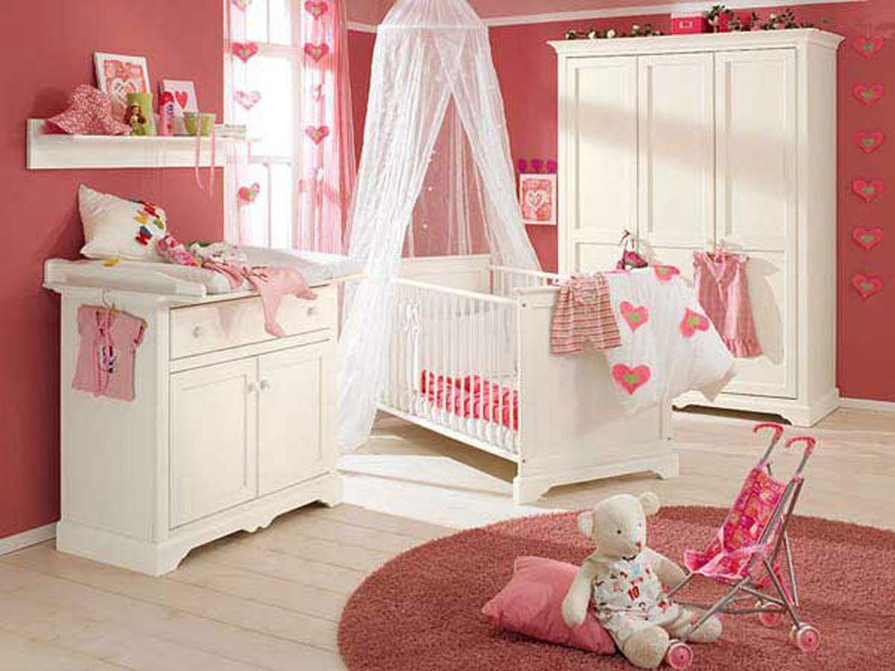 Babyrum-design-idéer-för-flickor-9 babyrum-design-idéer för flickor