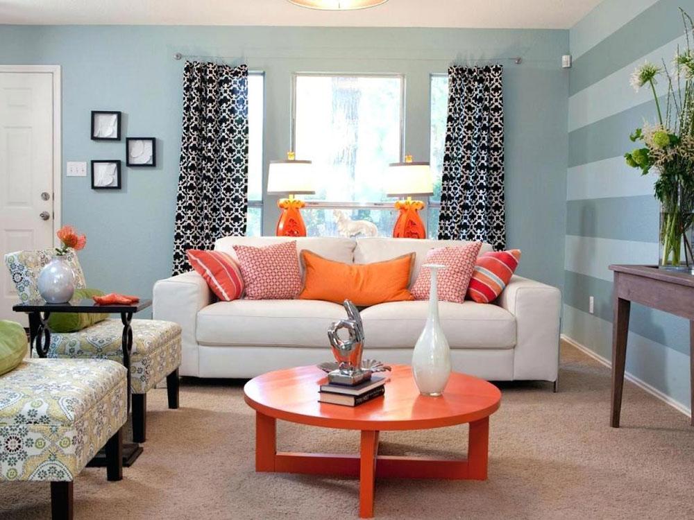 Accent Wall Paint Ideas Living Room Smarta sätt att förvandla ditt vardagsrum