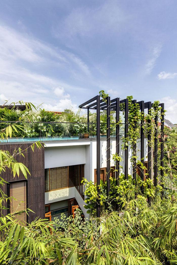 82288314879 Hus med en liten bit natur i bakgården