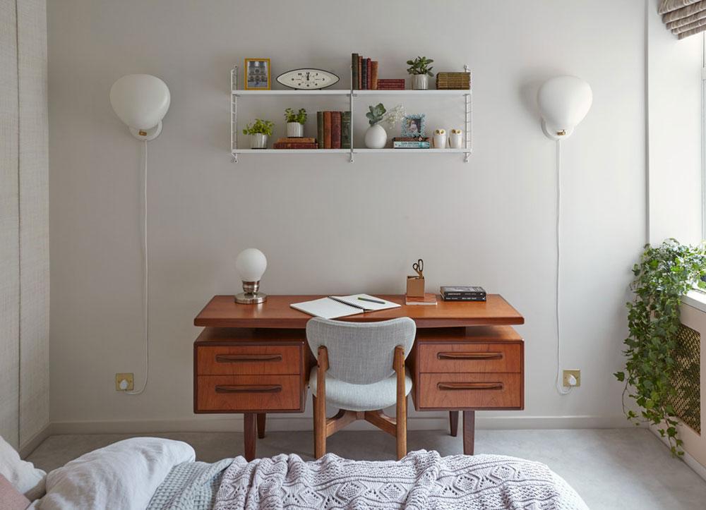 Mid-Century-Apartment-in-the-City-of-London-by-Black-and-Milk-Interior-Design Har du sett dessa fantastiska loftrumsidéer?
