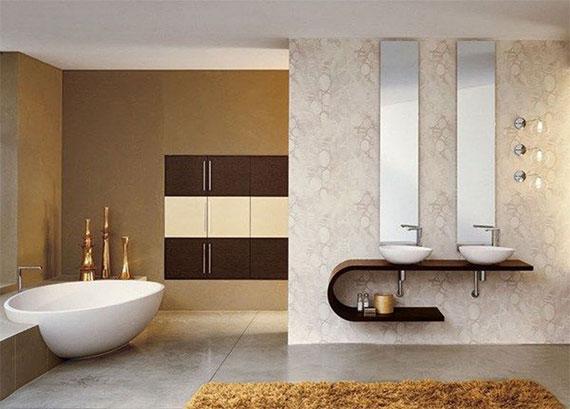 fur2 Attraktiva badmattor och mattor som förbättrar utseendet på ditt badrum