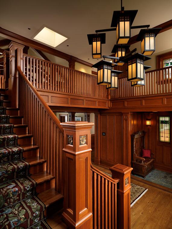 v21 Maclure-stil Ocean-Front Home Windward Oaks av Michael Knight
