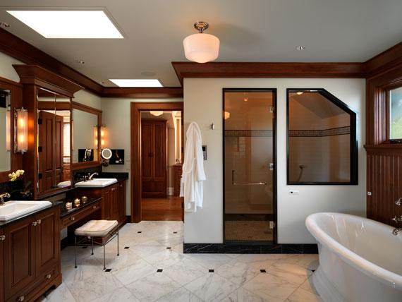 v12 Maclure-stil Ocean-Front Home Windward Oaks av Michael Knight