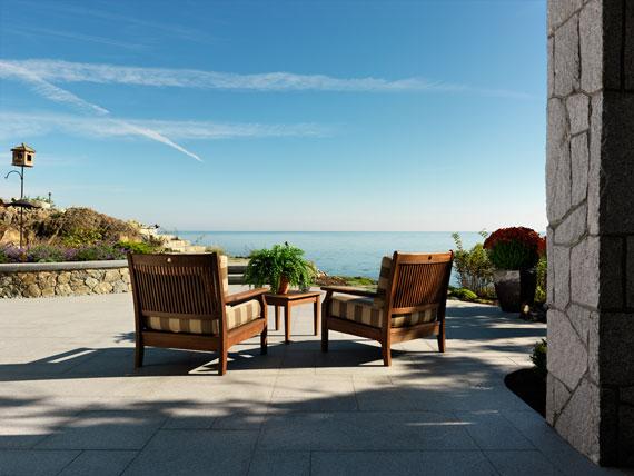 v9 Maclure-stil Ocean-Front Home Windward Oaks av Michael Knight