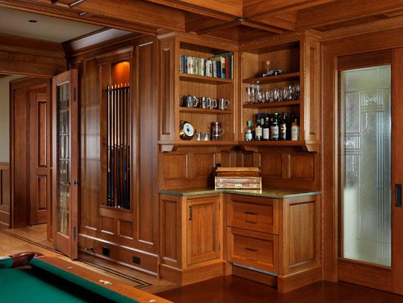 v10 Maclure-stil Ocean-Front Home Windward Oaks av Michael Knight