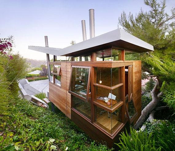 t3 Cool Treehouse designidéer att bygga (44 bilder)