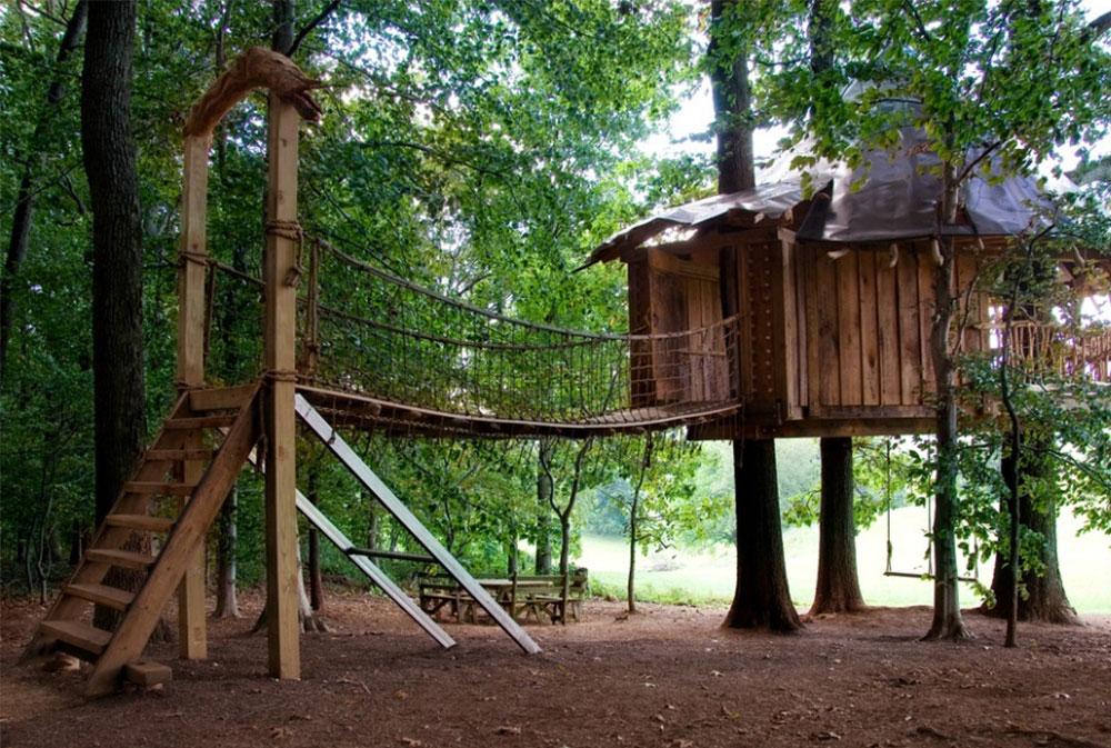 Bild 6-9 Coola trädhusdesigner att bygga (44 bilder)