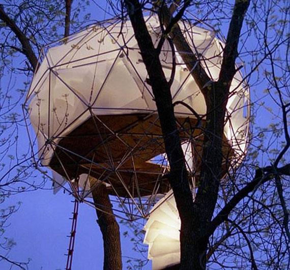t1 Cool Treehouse designidéer att bygga (44 bilder)