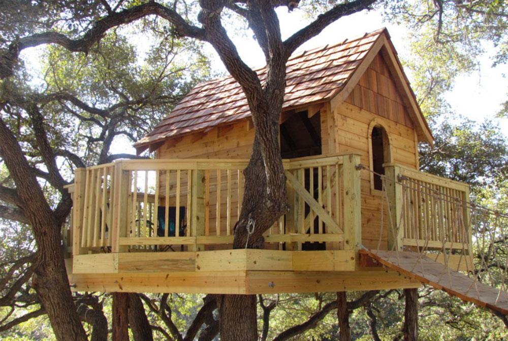 Bild 3-9 Coola trädhusdesigner att bygga (44 bilder)