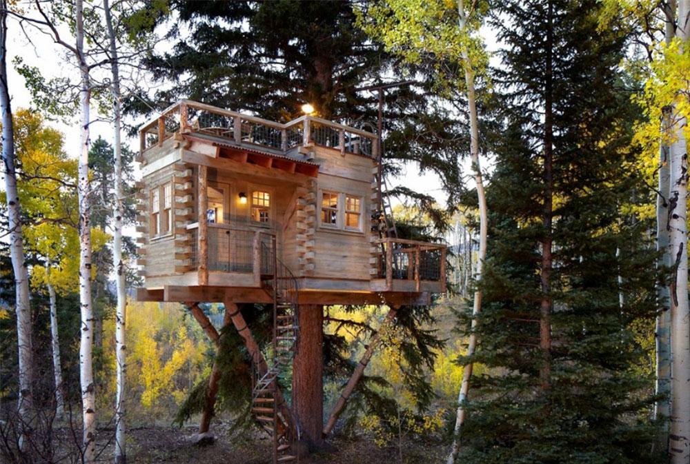 Bild 1-9 Coola trädhusdesigner att bygga (44 bilder)