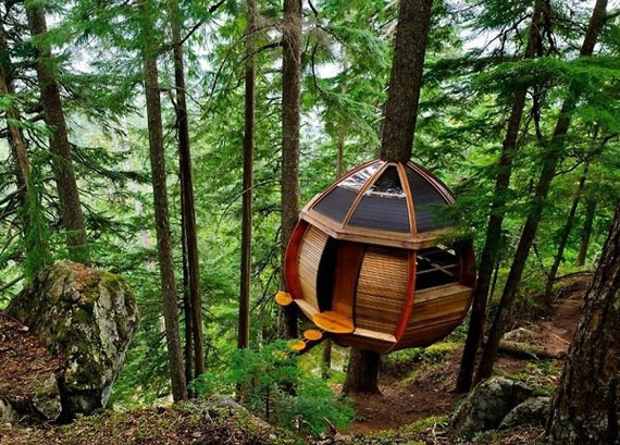 t28 Coola trädhusdesignidéer att bygga (44 bilder)